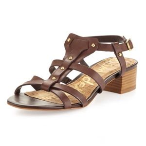 Sam Edelman Angela Studded T Strap Sandals